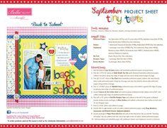 Tiny Tots Project Sheet 2014