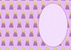Beautiful Princess Rapunzel A5 Insert on Craftsuprint - View Now!