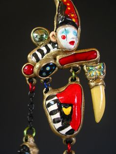 Bring in the Clowns Necklace