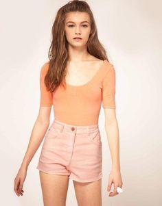 I love high waisted shorts!