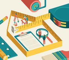 Illustration : The Washington Post Express par Donghyun Lim | Creasenso | Creasenso, Creative Talent Management