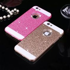 e4bb590679d Girls Hollow Jewellery Shining Glistening Beautiful Hard Elephone PC Case  Cover For iPhone 6 6s 7 plus Fashion With Logo Window. Bling Phone ...