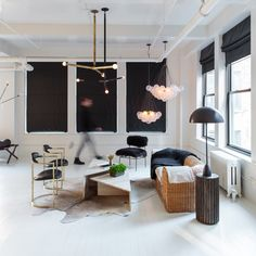 Modern lighting design - love the Cloud 37 suspension light by apparatus studio and available at Criteria Collection, Melbourne