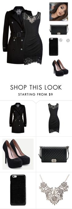 """New York-Chp 1"" by radickerson85 ❤ liked on Polyvore featuring Burberry, Chanel and Maison Margiela"