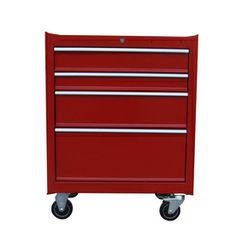 Task Force 34.5-in x 26-in 4-Drawer Ball-Bearing Steel Tool Cabinet (Steel-Painted) $156