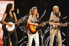 I became a country fan after a friend of mine was in a country band. I really do like the sounds of Dixie Chicks with their tight harmony and pop crossover sound.