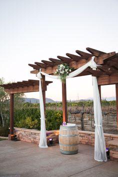 Winter Winery Wedding