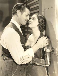 Clark Gable and Myrna Loy, 1930s