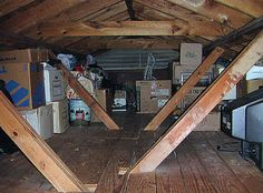 attic storage and organizing ideas - Bing Images