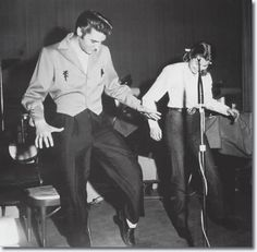 Judy Spreckels and Elvis Presley