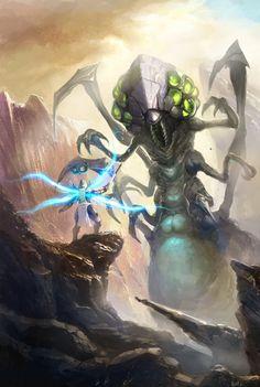 Heroes of the Storm Contest: Tyreal vs Abathur by xvortexbladex.deviantart.com on @DeviantArt