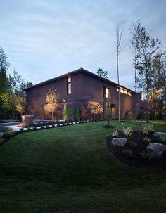 La Maison Véranda par Blouin Tardif Architecture-Environnement, Boucherville, Québec.Photo : Steve Montpetit. Source : v2com.