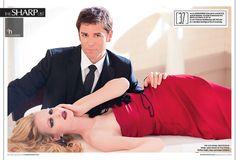 Yannick Bisson (Murdoch Mysteries) for a magazine editorial  © 2014 darryl humphrey - photography