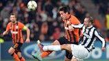 Ilsinho (FC Shakhtar Donetsk) and Giorgio Chiellini (Juventus)