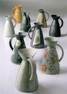 kitchen decoration – Home Decorating Ideas Kitchen and room Designs Ceramic Pitcher, Ceramic Mugs, Ceramic Pottery, Pottery Art, Pottery Patterns, Pottery Designs, Ceramic Birds, Pottery Techniques, Vases