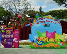 Birdz of Play - A great spot for kids to have water fun