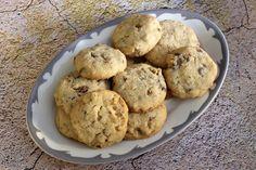 Pecan Praline Cookies - 2 sticks  salted butter, 2/3 c light brown sugar, 2 tsp pure vanilla extract, 2 c flour, 1.5 c finely chopped pecans