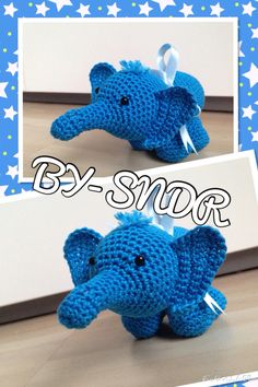 Little crochet elephant