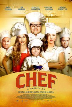 Chef a domicilio cuenta la historia de un cocinero que crea un negocio de venta ambulante de comida cubana. Una película gastronómica con un reparto muy interesante. #chef #restaurante #cuba #película