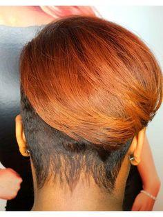 Haircut For Thick Hair, Cute Hairstyles For Short Hair, Bob Hairstyles, Curly Hair Styles, Natural Hair Styles, Haircuts, Natural Hair Cuts, Short Sassy Hair, Short Hair Cuts