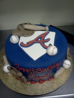 Are Basketball Shoes Good For Running Product 6th Birthday Parties, 9th Birthday, Atlanta Braves Cake, Brave Cakes, Baseball Birthday Cakes, Braves Baseball, Take The Cake, Party Cakes, Birthday Decorations