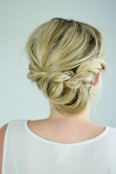 A Looped and Twisted Hair Tutorial - perfect for a fancy event!