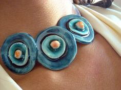 Necklace  azulado New Autumn Collection by azulado on Etsy, $24.00