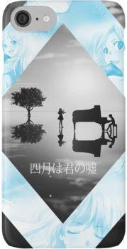 Shigatsu wa Kimi no Uso / Kousei x Kaori Wallpaper iPhone 7 Cases