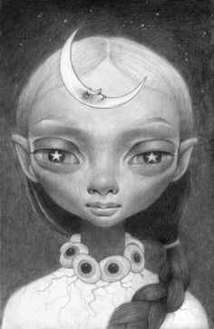 """Moonchild,"" by Ana Bagayan"