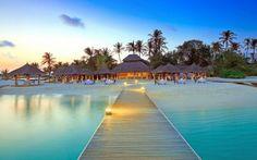 Maldives hotels wallpaper
