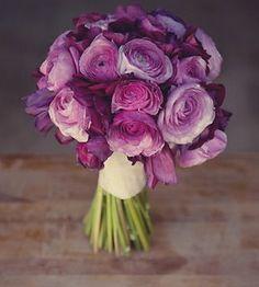 Purple Ranunculus Bouquets