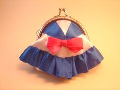 Monedero Sailor Moon hecho por Bajo una seta #monedero #sailor moon #coin purse #metal frame #costura #sewing #bajounaseta