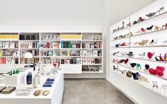The Vitra Schaudepot Shop, offering design publication and assorted design objects. Vitra Design Museum, Vitra Museum, Miniature Chair, Miniature Furniture, Tiny Furniture, Furniture Design, Chair Design, Vitra Chair, Arquitetura