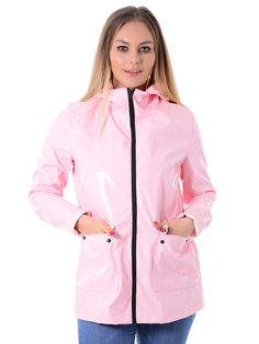 Vinyl festival jackets are now in stock. Lightweight and stylish, these coats are fantastic to wear in the warm weather. #womenswholesale #wholesaleclothing #ladiesfashion #rainmack #fesitval #vinyl #boutiqueshopping #zuppeclothing #fashionblogger #coats Pink Raincoat, Rainy Day Fashion, Rain Wear, Vinyl, Wholesale Clothing, Latest Trends, Rain Jacket, Festival Jackets, Womens Fashion