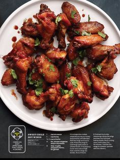 Slow Cooker Wings# slow cooker healthy recipes