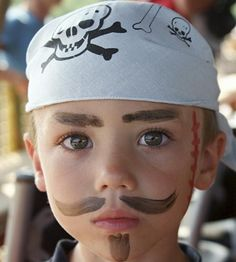 Face Painting Ideas for Beginners - Pirate