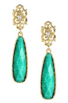 Tino Island Earrings by Amrita Singh on @HauteLook