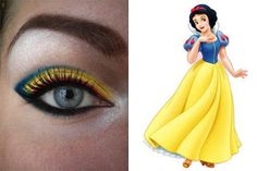 Disney Make-Up Series Snow White Makeup Geek, Hair Makeup, Makeup Stuff, Snow White Makeup, Beauty Make Up, Hair Beauty, Costume Blanc, Disney Makeup, Character Makeup