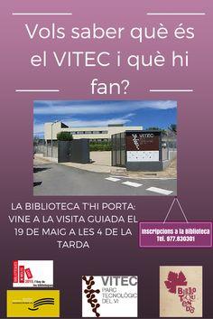 Visita VITEC 19 de maig #Quèfemalesbiblios