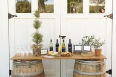 Set Up A Wine and Food Tasting Station Incorporating wine and food tasting into your wedding – whether as a main event or as a DIY station – can provide guests with a chance to interact, mingle and dive into a new experience. Cement the memorable experience by giving guests wine-related wedding favors to take home, such as unique corkscrews or wine stoppers.