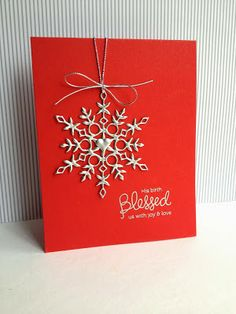 LOVE this card by Lisa Adessa using Simon Says Stamp Exclusives. December 2013