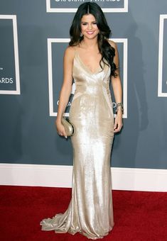 Selena Gomez Red Carpet Dress