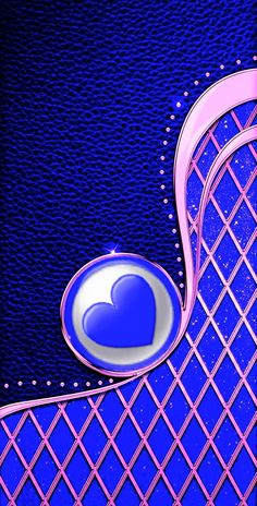 Blue Wallpapers, Pretty Wallpapers, Wallpaper Backgrounds, Iphone Wallpapers, Wallpaper For Your Phone, Heart Wallpaper, Luxury Wallpaper, Textures Patterns, Shades Of Blue