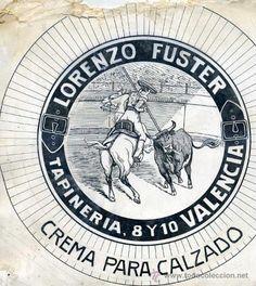 DIBUJO PUBLICITARIO ORIGINAL AÑOS 30 : LORENZO FUSTER VALENCIA - Foto 1