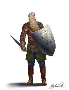 Vidar the Nomad Chieftain by MatesLaurentiu.deviantart.com on @DeviantArt
