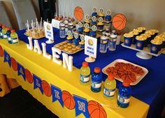 Basketball dessert