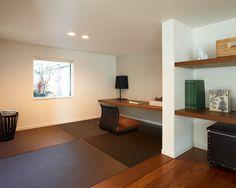 書斎コーナー 床座|注文住宅のアキュラホーム