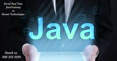 #Java is easy to learn, Besant Technologies offers real time java #training in #Chennai with best #placement support