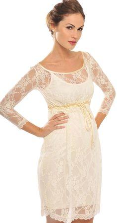 ginnifer lace maternity dress