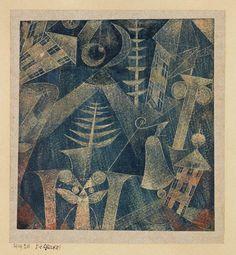 Paul Klee (Swiss, 1879-1940) - The Bell!, 1919